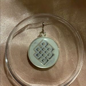 Jewelry - Endless knot necklace charm ALEX AND ANI
